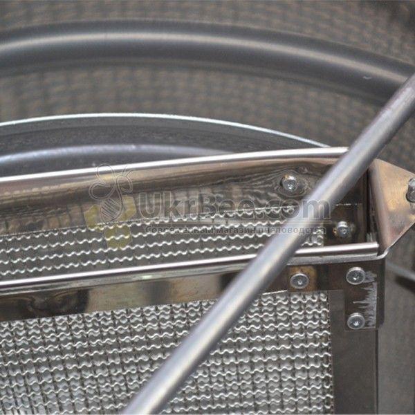 Медогонка 3-рамочная, поворотные кассеты, нержавющие (рис 6)