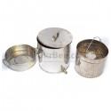 Воскотопка из нержавеющей стали (12 литров) (рис 2)