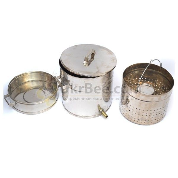 Воскотопка из нержавеющей стали (12 литров)