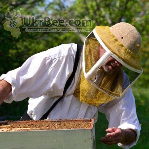 Пчеловодная маска с металлической сеткой, США (общий вид)
