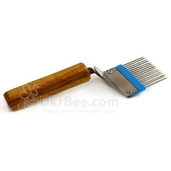 Пасечная вилка для распечатки сот, рис 5