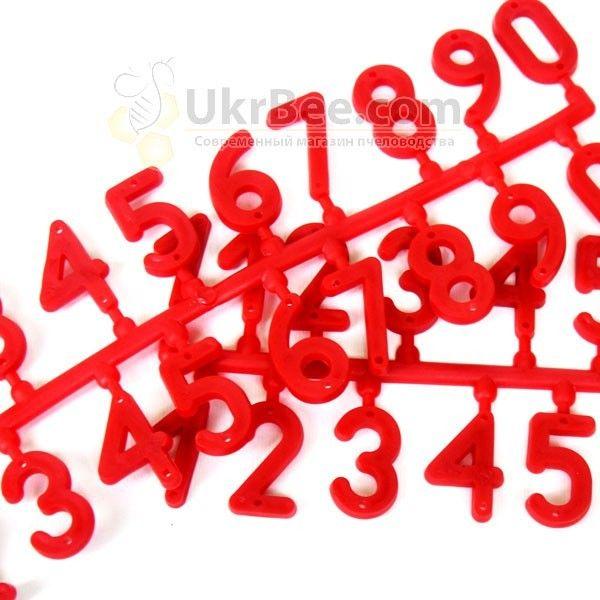 Пластиковые номера на ульи (1-10)