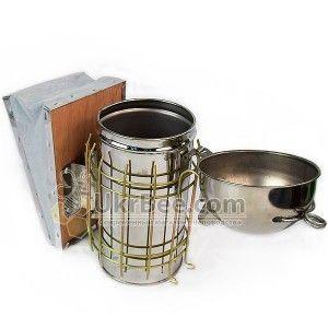 Дымарь пчеловода из нержавеющей стали, рисунок , рис. 2