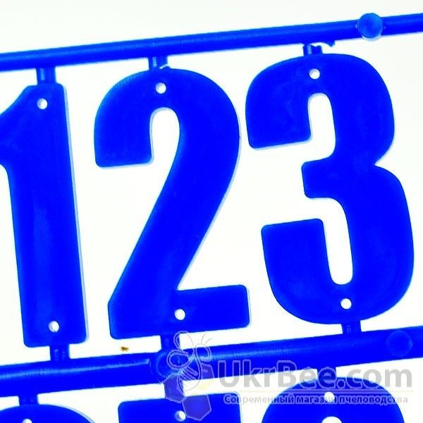 Номерки на улей (15 цифр), рис. 4