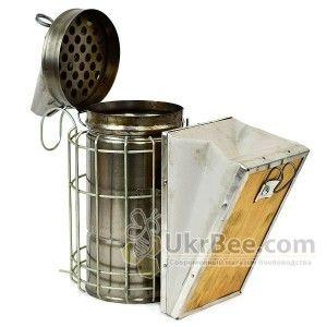 Дымарь из черной стали + защита от ожогов, рис. 4