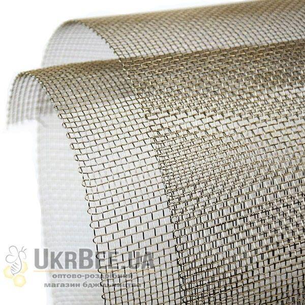 Сітка ткана з нержавіючого дроту 2,5х2,5мм*0,5мм (1х1м) мал. 2