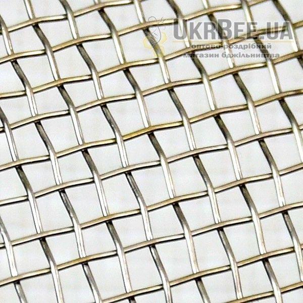 Сетка тканая из нержавеющей проволоки 2,5х2,5мм*0,5мм (1х1м)