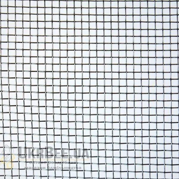 Сетка тканая из низкоуглеродистой проволоки 2,5х2,5мм*0,5мм (1х1м)
