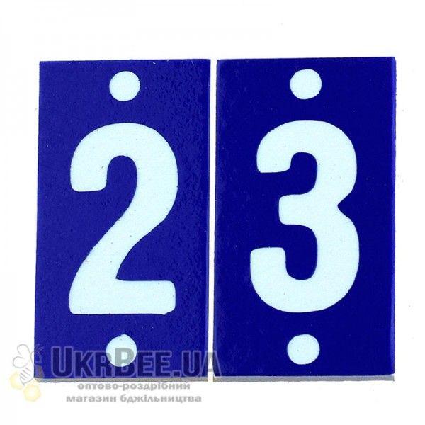 Номери на вулик малі (на 100 вуликів), ПВХ, мал. 2