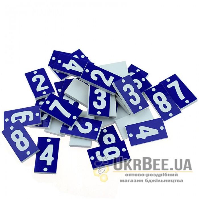 Номери на вулик малі (на 100 вуликів), ПВХ, мал. 1