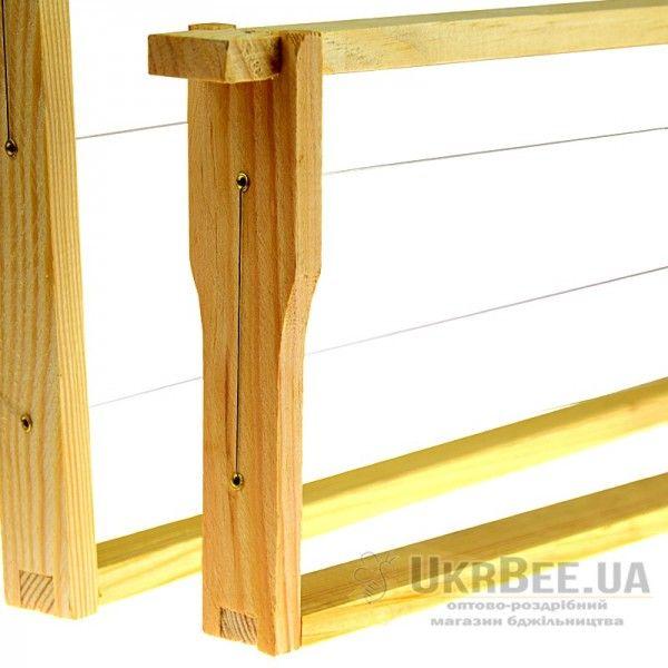 Рамки для вулика (з дротом і втулками), 10 шт, мал. 2