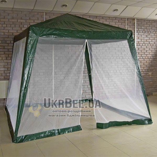 Палатка для пасеки 3х3 с москитной сеткой (рис 1)
