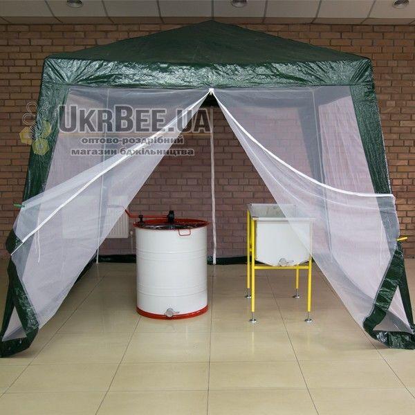 Палатка для пасеки 3х3 с москитной сеткой (рис 3)