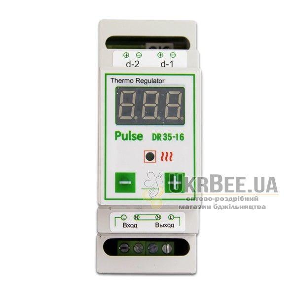 Терморегулятор для обігрівача вулика цифровий Pulse DR35-16 (мал 3)