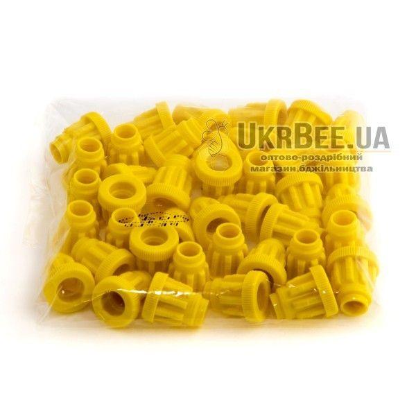 Желтые держатели Джентер ребристые (рис 12)