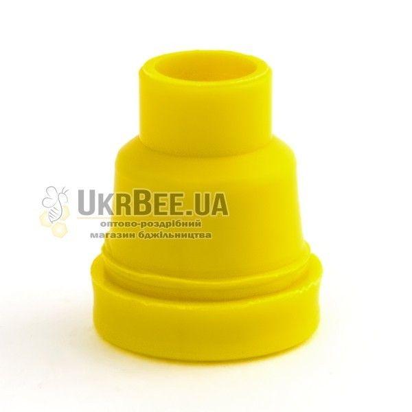 Желтые держатели Джентер гладкие (рис 2)