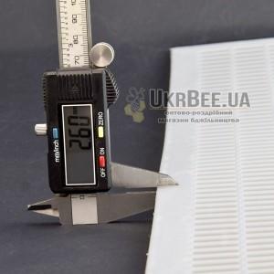 Решетка разделительная 10 рамочная 425×500мм  (ганемановская) мал 7