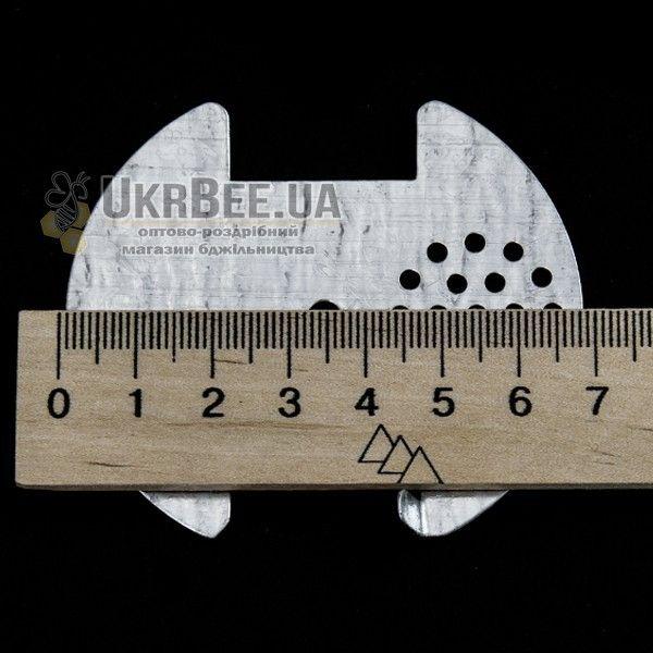 Летковый заградитель круглый. Оцинковка, Ø70 мм (рис 1)