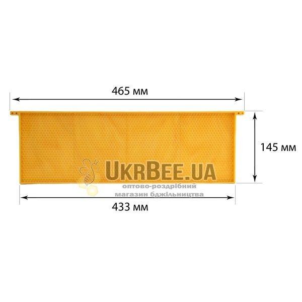 """Рамка ульевая пластиковая """"Дадан"""" 145 мм"""