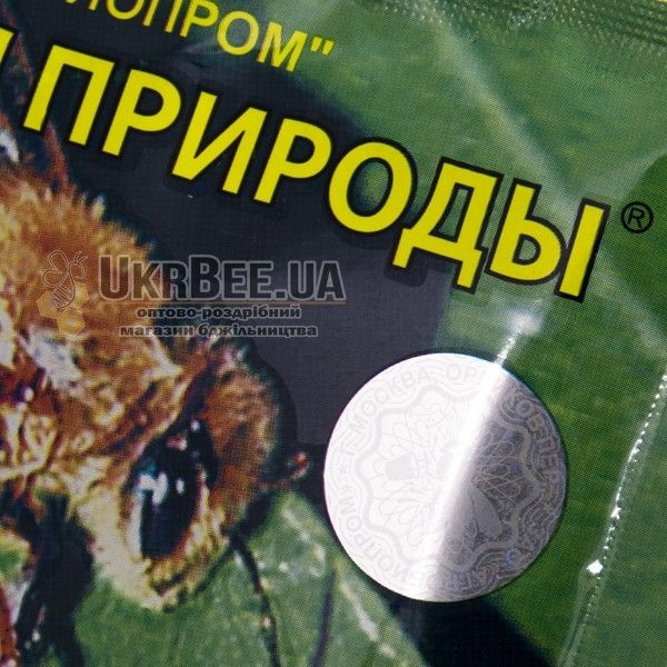 """Корм для бджіл """"Гармонія природи"""" з голограмою (мал 5)"""
