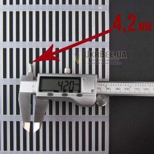 Решітка роздільна на 10 рамок УКРАЇНА (мал 2)