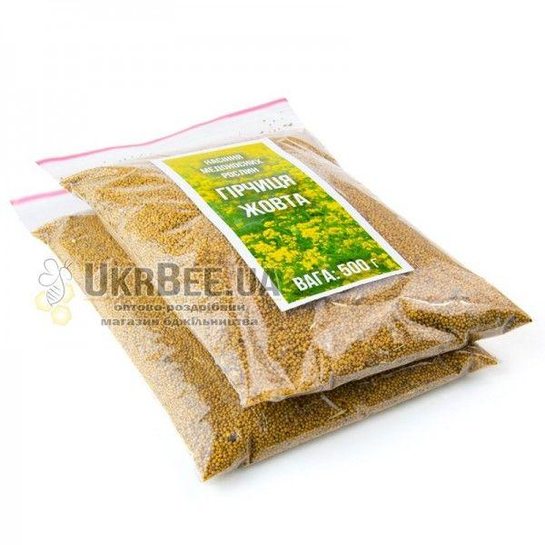 Горчица Желтая. 500 г. Семена медоносов, (рис. 3)