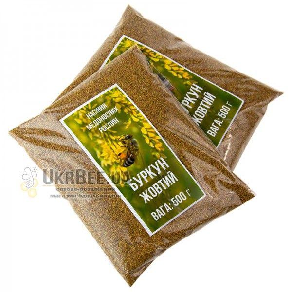 Буркун (Донник) желтый. 500 г. Семена медоносов, рис. 1