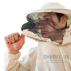 Куртка пчеловода (бязь), маска круглая, рис. 1