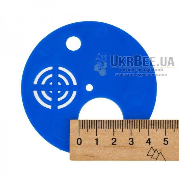 Льотковий загороджувач круглий. Пластик Ø 80 мм, (мал. 4)