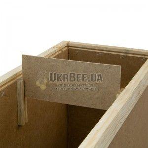 Ящик для бджолопакетів (4 рамки Дадан), мал. 5