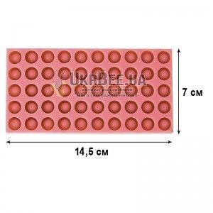 Форма для виготовлення мисочок Нікот (на 50 мисочок). Силікон, мал. 1