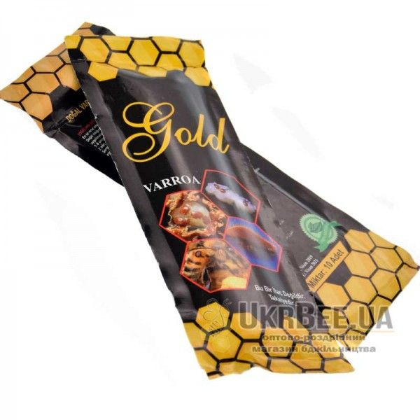 Полоски Gold Varroa 10 полосок, Турция (рисунок 3)