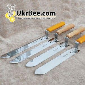 Нож пасечный Jero Beekeeping для срезания печатки с медовых сот, Джеро Португалия (рис 5)