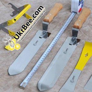 Нож пасечный Jero Beekeeping для срезания печатки с медовых сот, Джеро Португалия (рис 7)