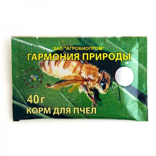 """Корм для пчел """"Гармония природы"""" 40г (рис 1), https://ukrbee.ua"""