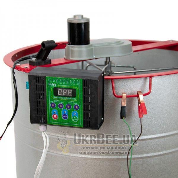 Медогонка 4х кассетная, алюмоцинковая с электроприводом Pulse EURO, рис. 1