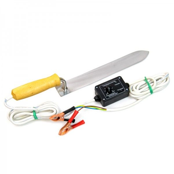 "Нож электрический 12В ""Павик-Профи-280"" с терморегулятором, рис. 1"
