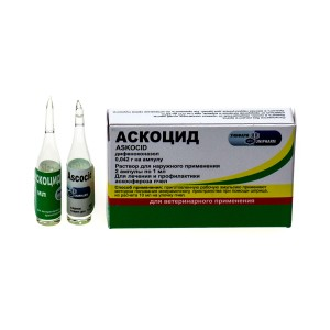 Аскоцид, 2 ампулы х1мл