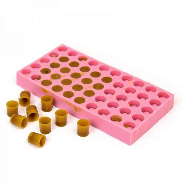 Форма для изготовления мисочек (на 50 мисочек). Силикон, рис. 1