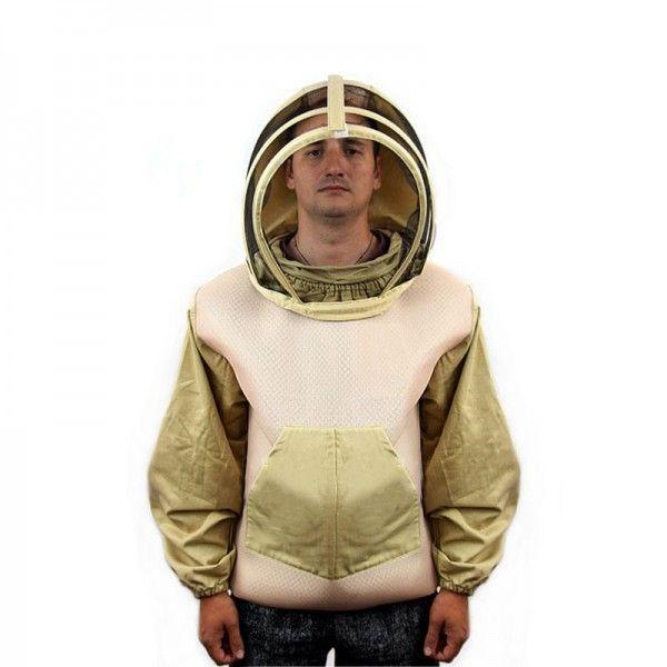 Куртка пчеловода Оptima LUX (коттон + сетка), рис. 1