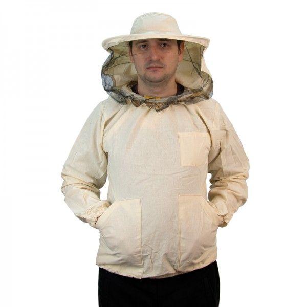Куртка пчеловода (бязь), шляпа круглая, рис. 1