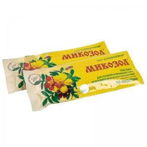 Мікозол пластини (10 шт), мал. 1