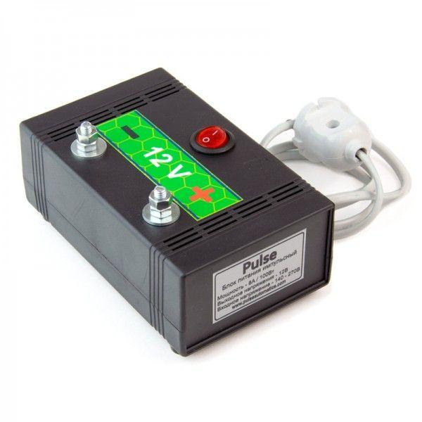 Блок живлення 12 вольт, 100 Вт, 8 А (імпульсний), мал. 1
