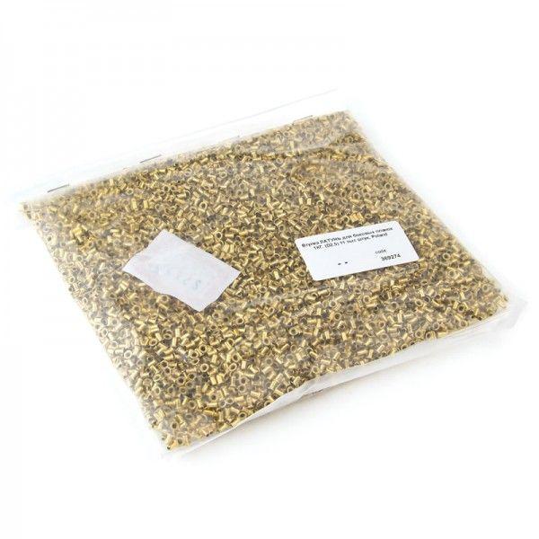 Втулки ЛАТУНЬ для рамок. 1 кг (11 000 шт), рис. 1