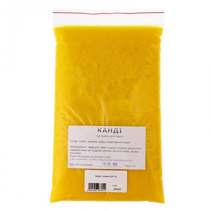 Канді з пилком (+інверт. сироп) 1 кг, мал. 1