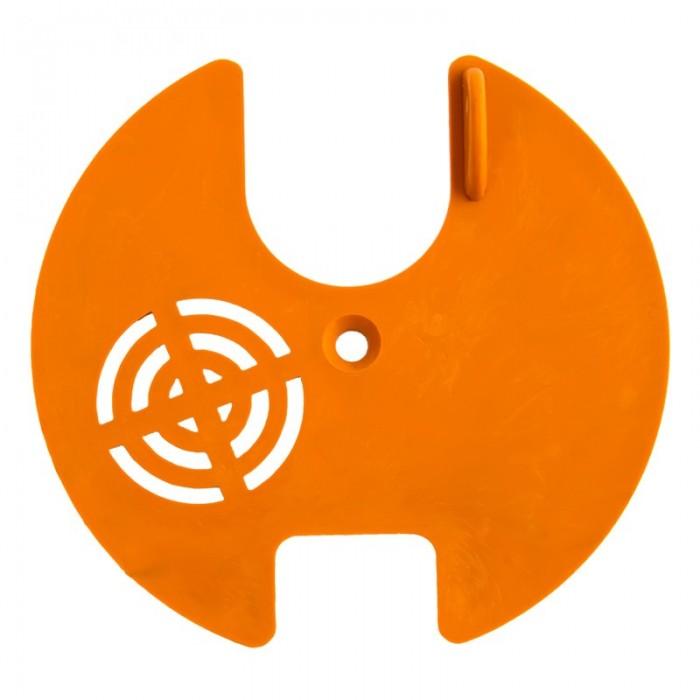 Льотковий загороджувач круглий. Пластик Ø 80 мм (мал 1)