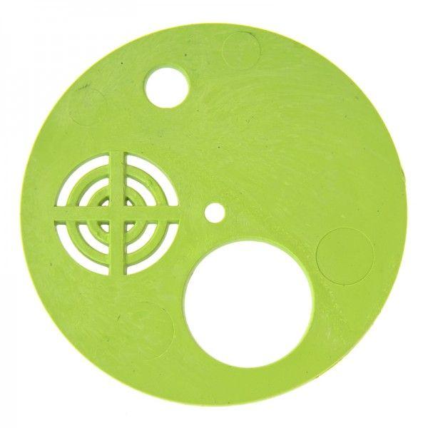 Летковый заградитель круглый. Пластик Ø 80 мм, (рис. 1)