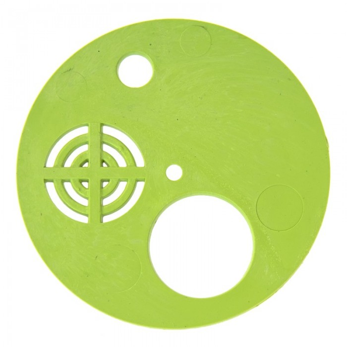 Льотковий загороджувач круглий. Пластик Ø 80 мм, (мал. 1)