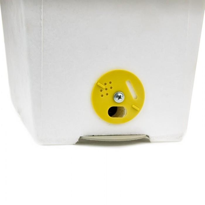 Летковый заградитель для нуклеуса, рис. 1, вид на нуклеусе