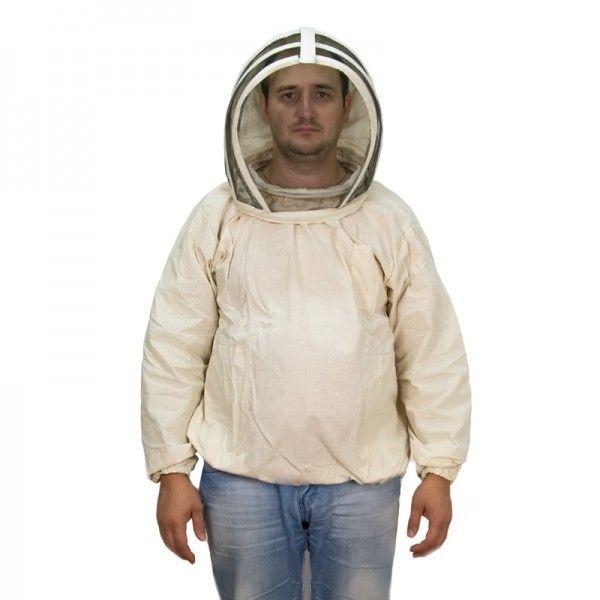 "Куртка пчеловода (бязь), маска ""Евро"", рис. 1"